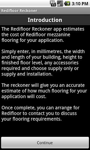 【免費商業App】Redifloor Reckoner-APP點子