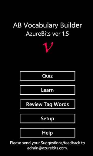 AB Vocabulary Builder