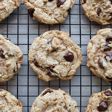 Chocolate Chip Toffee Treasure Cookies
