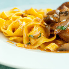 Chicken Chasseur With Fresh Tagliatelle