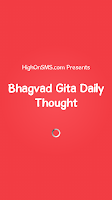 Screenshot of Bhagvad Gita Daily Thought