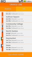 Screenshot of Orange Line Boston Subway MBTA