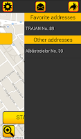 Screenshot of TAXI ACTUAL Client