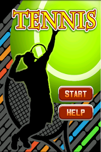 Tennis game Bash - screenshot