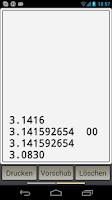 Screenshot of HP-45 scientific calculator