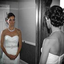 Meditation  by Rob Ebersole - Wedding Bride ( wedding )