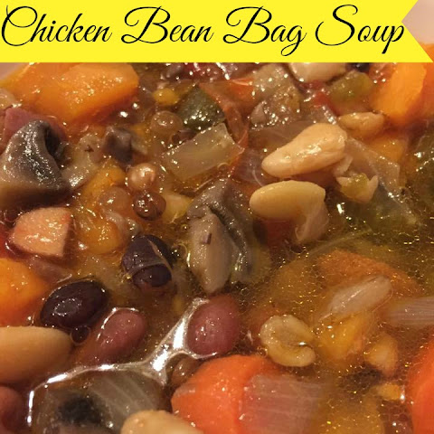 Chicken Bean Bag Soup