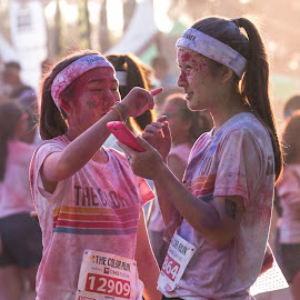 Color Run 2014 by HuiLi Peh - News & Events World Events ( color, events, sentosa, colorrun, running, happiest5k, singapore )