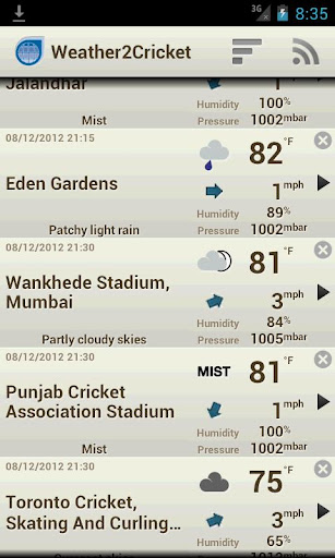 Weather2Cricket ads free