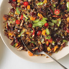 Wild Rice, Fruit, and Pecan Stuffing