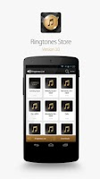 Screenshot of Ringtones Store