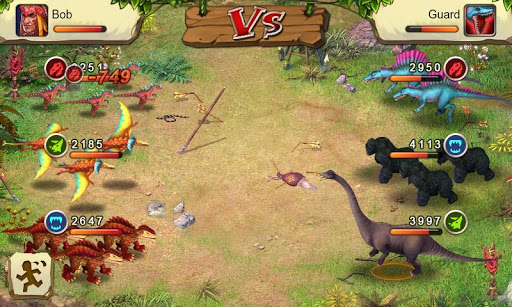 dinosaur-war for android screenshot