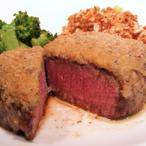 Outback Steakhouse Victoria's Crowned Filet with Horseradish Crust