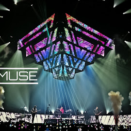 MUSE Concert by Andrew J Knepper - News & Events Entertainment ( lights, music, concert, colorful, colors, #muse, photography, live )