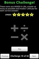 Screenshot of Falling Math