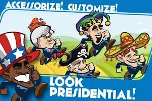 Screenshot of Presidents Run