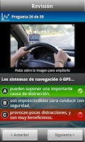 Screenshot of Autoescuela Móvil - Test DGT