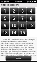 Screenshot of Math: Addition Subtraction #1