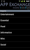 Screenshot of Mobile VAS directory-KooKoo