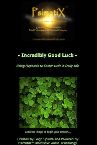 Get Lucky Today Hypnosis