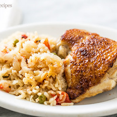 Slow Cooker Chicken Rice Casserole