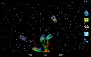 Screenshot of Pixel Fleet Lite