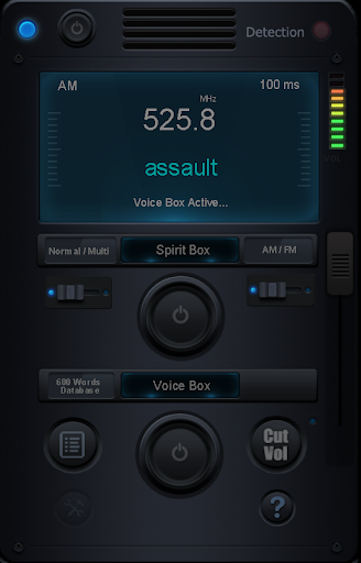 ProVox Ghost Box - screenshot