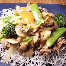 Robi's Steak and Bok Choy Stir Fry