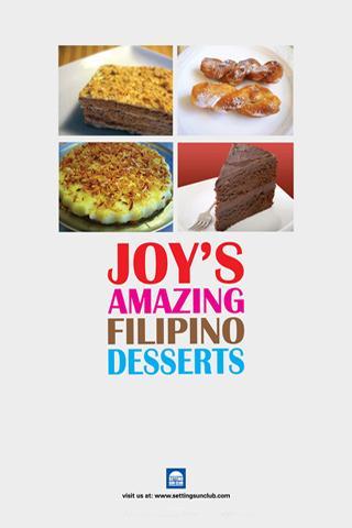 Joys Amazing Filipino Desserts