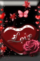 Screenshot of Love Heart Red Live Wallpaper