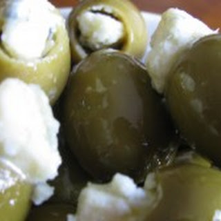 Gorgonzola Stuffed Olives