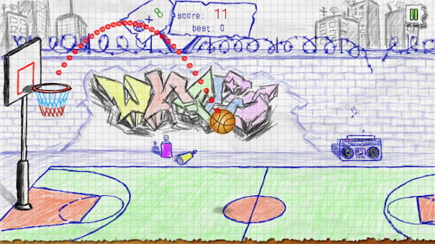 Doodle Basketball APK screenshot thumbnail 3