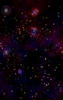 Screenshot of Cosmic Voyage Live wallpaper