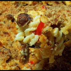 Cheesy Sausage and Pasta Bake