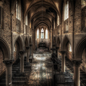 Church of the Blue Christ by Frank Quax - Buildings & Architecture Decaying & Abandoned