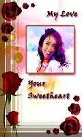 Screenshot of Insta Greeting Card