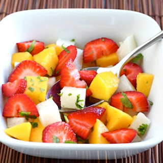 Strawberry Mango Jicama Salad