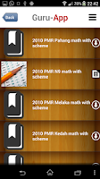 Screenshot of PT3 Mathematics Guru-App PBSMR