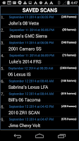 Screenshot of OBD DROIDSCAN PRO