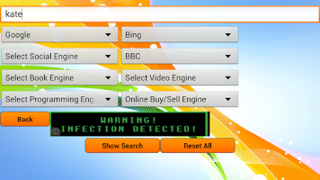 Screenshot of Super Search