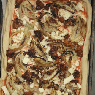 Sausage and Roasted Fennel Pizza