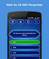 Screenshot of Milionário Quiz Brasil