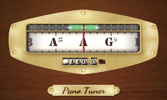 Screenshot of Pano Tuner - Chromatic Tuner