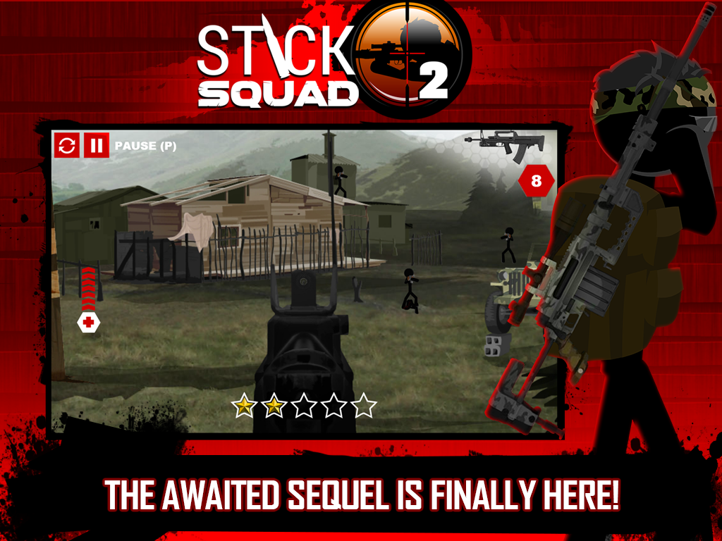 Stick Squad 2 - Shooting Elite Screenshot 7