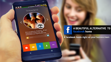 Screenshot of Alias Facebook Home Launcher