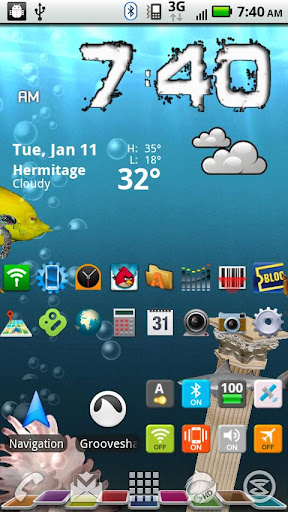 More Icons Free Widget