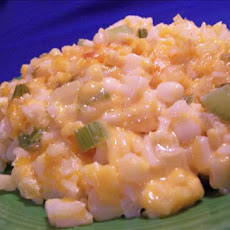 Rice, Cheese and Corn Bake