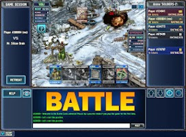 Screenshot of Battle Cards