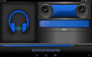 Screenshot of BoomCap Music Player