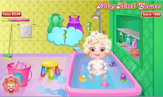 Screenshot of Baby Hazel Bathroom Hygiene